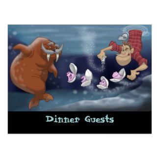De walrussen en het Briefkaart van de Timmerman