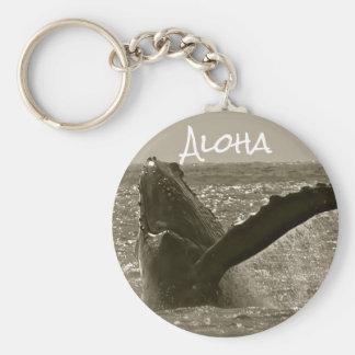 De Walvis van Aloha Sleutelhanger