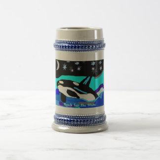 De Walvis van de Orka van de Ster van Nightime, Bierpul