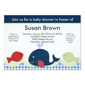 De Walvis van Jackson/de Uitnodiging van het Baby