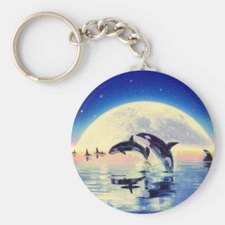 De Walvissen van de orka Sleutelhanger