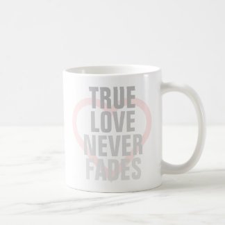 De ware Liefde verdwijnt nooit langzaam Koffiemok