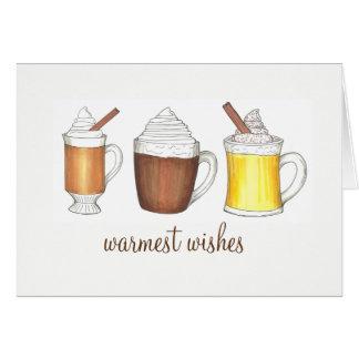 De warmste Vakantie van de Winter van de Eierpunch Briefkaarten 0