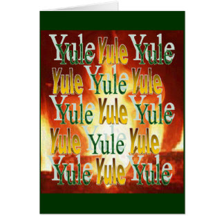 De Warmte van Yule Briefkaarten 0