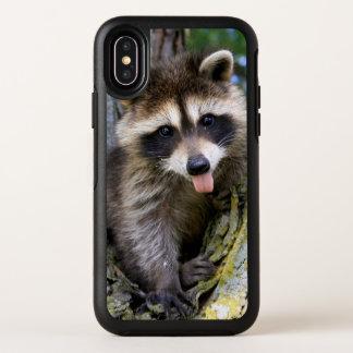 De Wasbeer van het baby OtterBox Symmetry iPhone X Hoesje