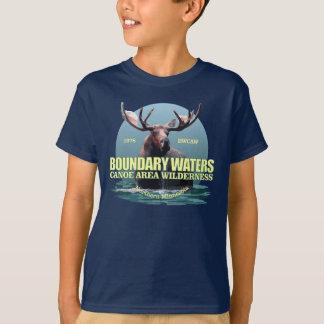 De Wateren van de grens KRASSEN (Amerikaanse T Shirt