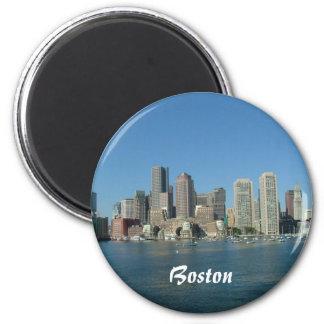 De Waterkant van Boston Ronde Magneet 5,7 Cm