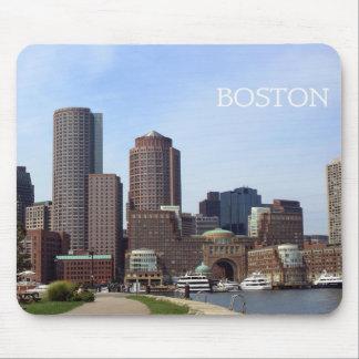De Waterkant van de Stad van Boston - het Stootkus Muismatten