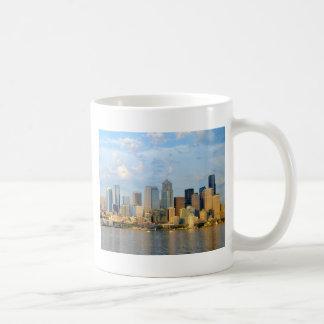 De Waterkant van Seattle Koffiemok