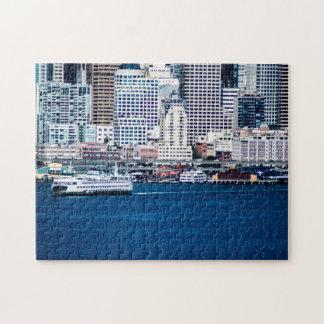 De Waterkant van Seattle - Middel Puzzel