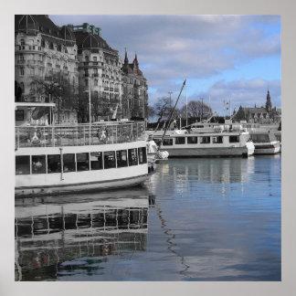 De Waterkant van Stockholm Poster