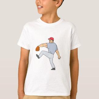 De Waterkruik van de Speler van het honkbal Klaar T Shirt