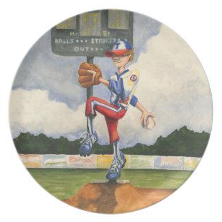 De Waterkruik van het honkbal op Hoop door Vlaamse Melamine+bord
