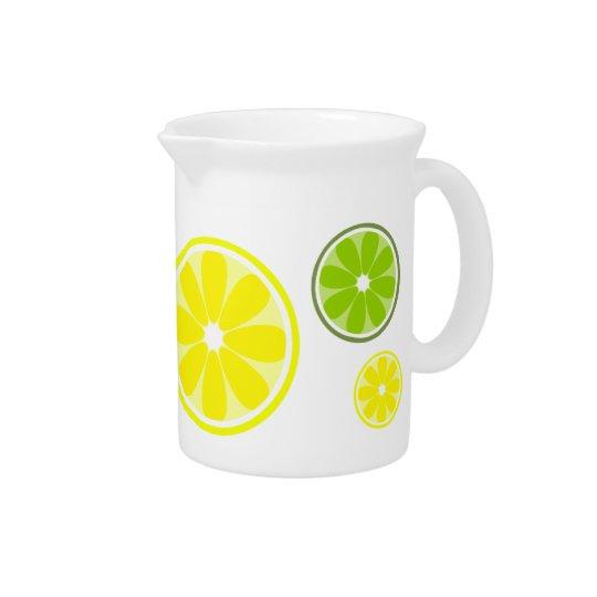 De Waterkruik van het Limoen van de citroen Drink Pitcher