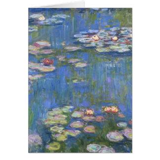 De Waterlelies van Claude Monet // Kaart