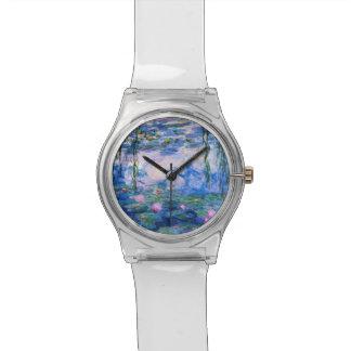 De Waterlelies van Monet Polshorloge