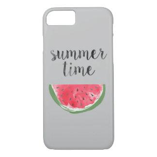 De Watermeloen van de Tijd van de zomer iPhone 7 Hoesje