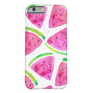 De Watermeloenen van de waterverf Barely There iPhone 6 Hoesje