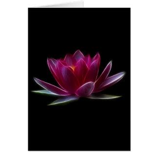 De Waterplant van de Bloem van Lotus Briefkaarten 0