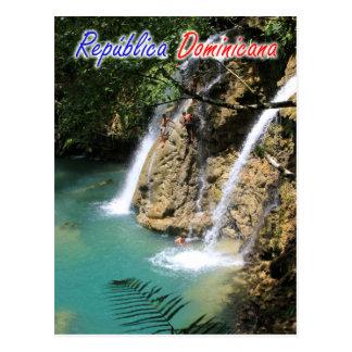 De Waterval van de Dominicaanse Republiek Briefkaart