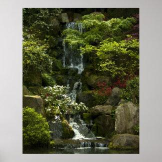 De Waterval van de tuin Poster
