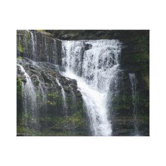 De Watervallen van Cummins Canvas Afdrukken