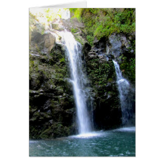 De Watervallen van Maui Kaart