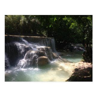 De Watervallen van Si van Kuang Briefkaart