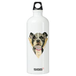 De Waterverf die van de Hond van de Stier van de Waterfles