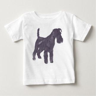 De Waterverf van Airedale Terrier Baby T Shirts