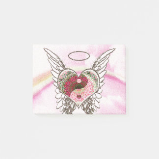 De Waterverf van de Vleugels van de Engel van het Post-it® Notes