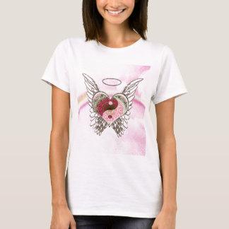 De Waterverf van de Vleugels van de Engel van het T Shirt