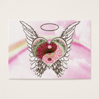 De Waterverf van de Vleugels van de Engel van het Visitekaartjes