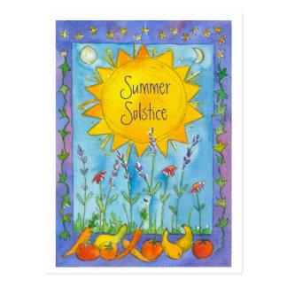 De Waterverf van de Vruchten van de zonneschijn Briefkaart