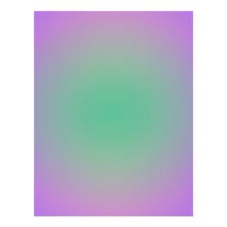 De wazige Lavendel van de Lente en Groen Gepersonaliseerde Folder