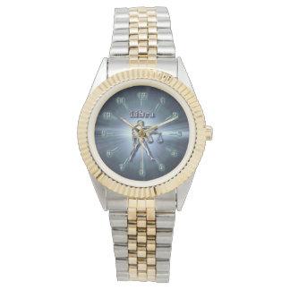 De Weegschaal van het chroom Horloge