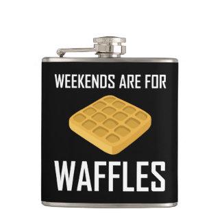 De weekends zijn voor Wafels Heupfles