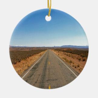 De Weg Cayons van de natuur verder Rond Keramisch Ornament