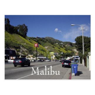 De Weg Malibu Californië van de vreedzame Kust Briefkaart