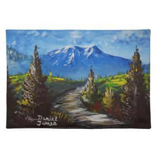De Weg van de berg Placemat