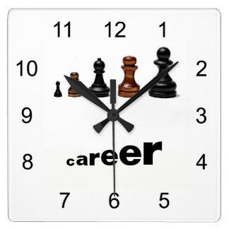 De Weg van de carrière Vierkante Klok