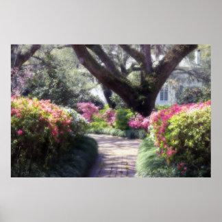 De Weg van de tuin Poster