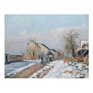 De weg van Gisors aan Pontoise Briefkaart