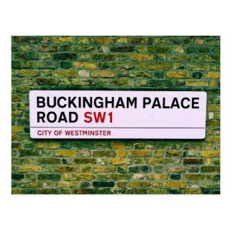 De Weg van het Buckingham Palace - Londen Briefkaart