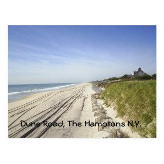 De Weg van het duin, N.Y. Hamptons Briefkaart