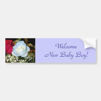 De welkom Nieuwe Jongen van het Baby! Bumpersticker