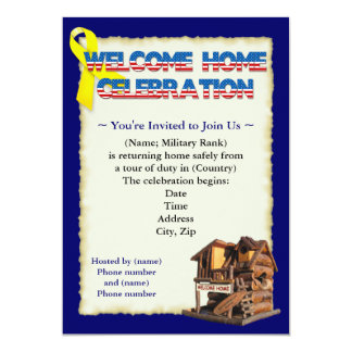 De welkom Uitnodigingen van de Partij van het Huis