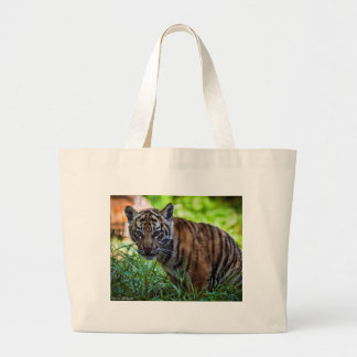 De Welp van de Tijger van Sumatran van huren Grote Draagtas