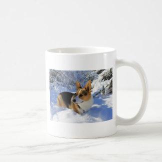De Welse Dag van de Sneeuw Corgi Koffiemok