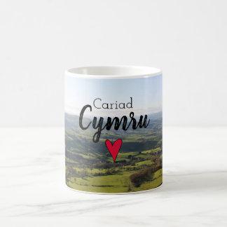 De Welse Heuvels van het Landschap van Wales van Koffiemok